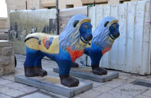 lions in Old City