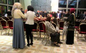 Muslim women in Israeli president' s house