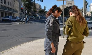 Female Israel security