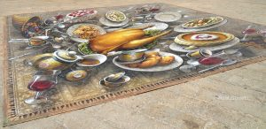 food #D art on Jerusalem Israel streets