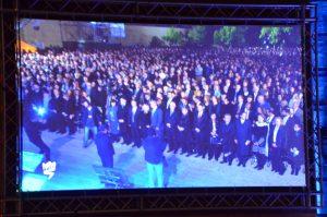 Ceremony at Yad Vashem for Yom Hashoah