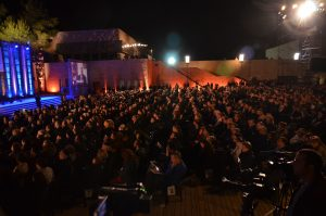 Yad Vashem for Yom HaShoah crowd