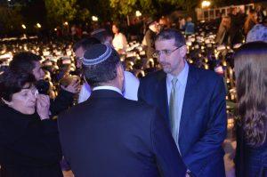 US Ambassador Dan Shapiro at YadVashem for Yom Hashoah