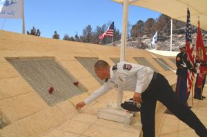 Jerusalem Israel memorial to killed on September 11