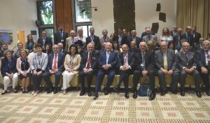 World Jewish Congress posed for photo with Presidetn Rivlin