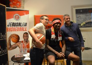 Basketball star Amar'e Stoudemire Hapoel Jerusalem basketball star at Inbal Hotel for fund raiser