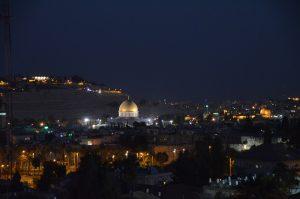 Jerusalem Israel night view Old City