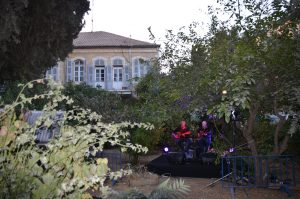 Jerusalem street fair music sukkot Israel