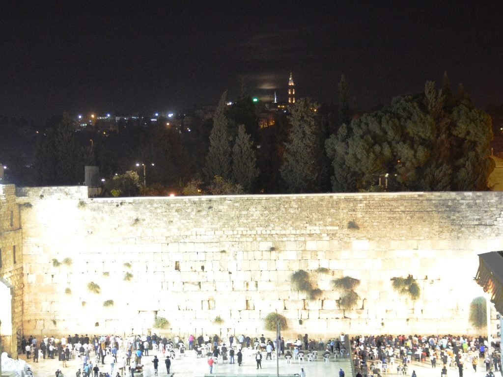 Supermoon at Kotel