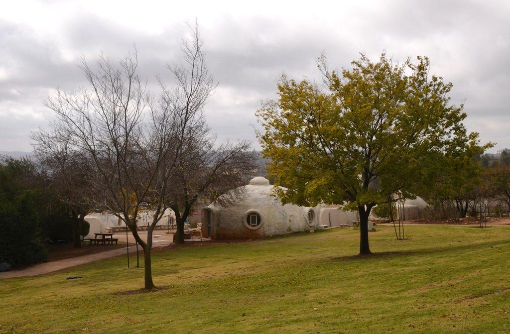Kfar Etzion old igloo buildings