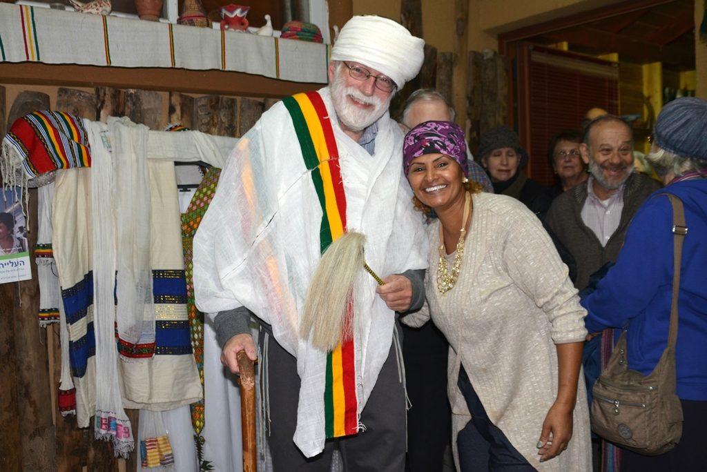 Kez costume and Ethiopian Israel woman