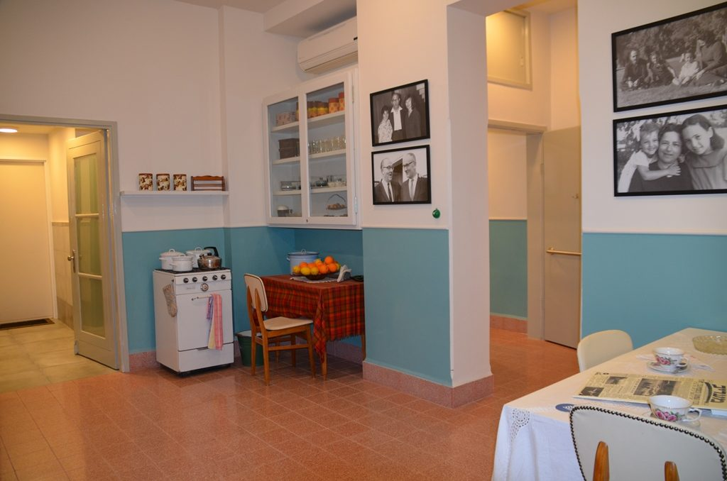 Kitchen in Levi Eshkol house