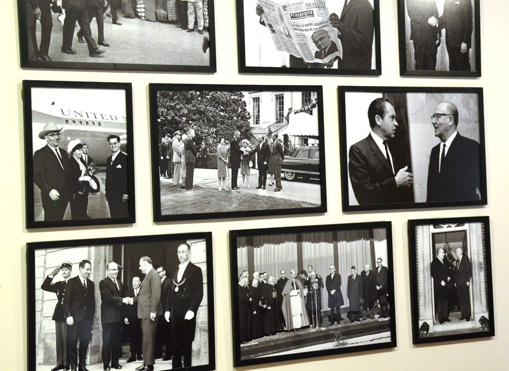 photo display highlights of Levi Ieshkol prime minister