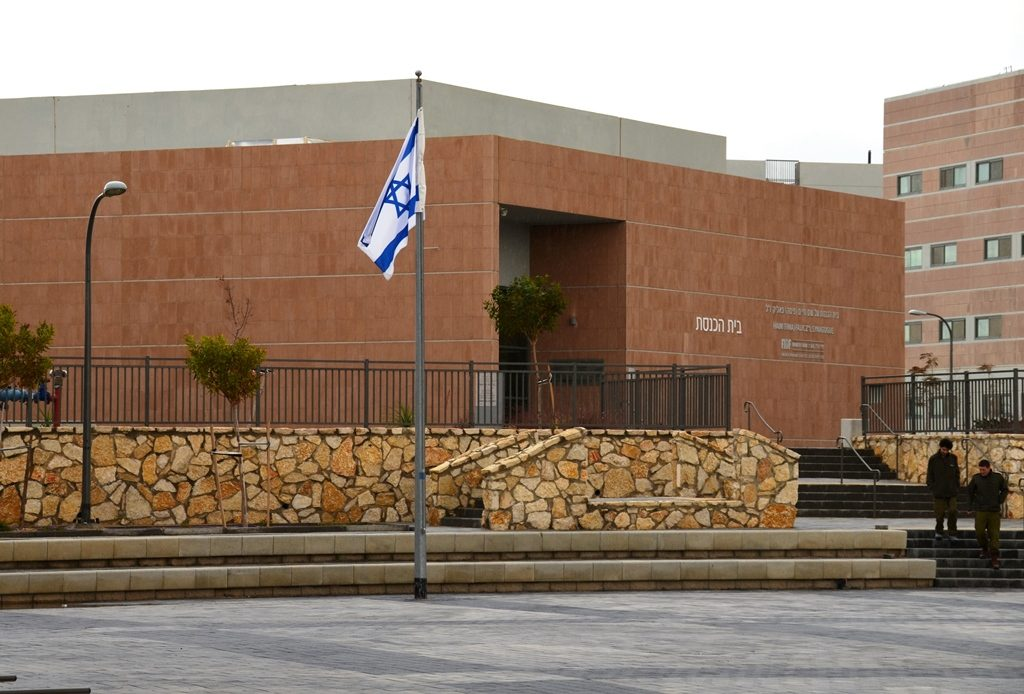 Negev army base shul