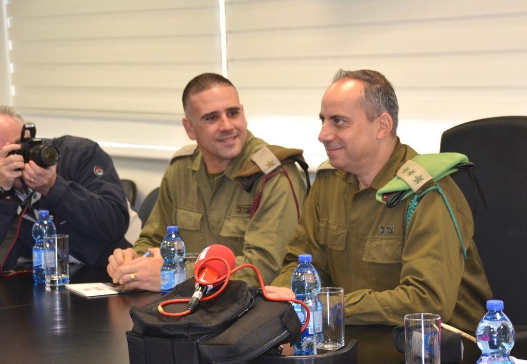 IDF base commanders