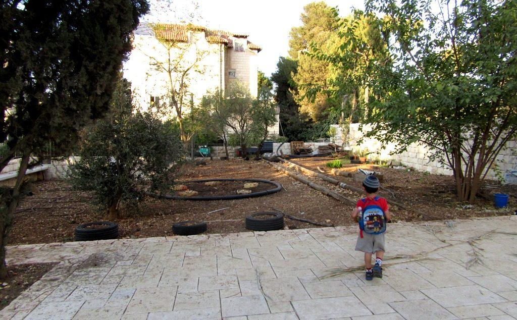 Community garden in Baka, Jerusalem , Israel