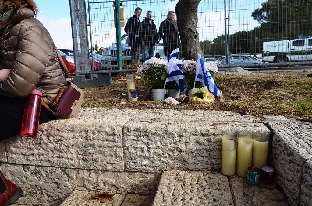 Memorial candles lit for 4 victims of terror Jerusalem