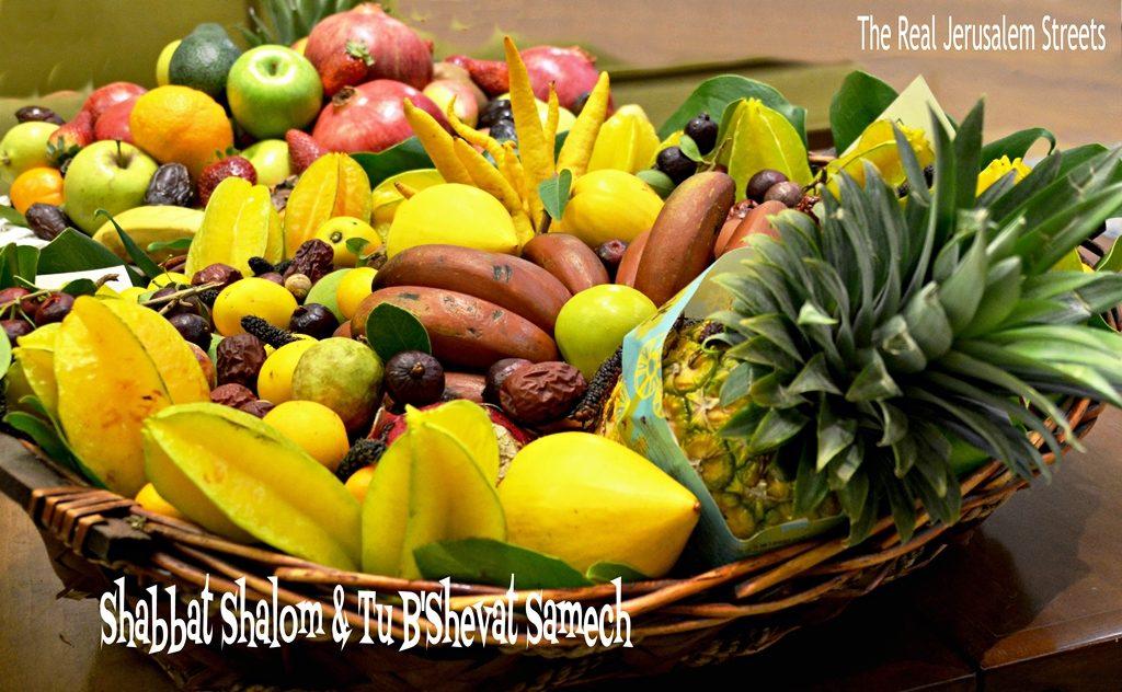 Shabbat shalom Tu B'Shvat