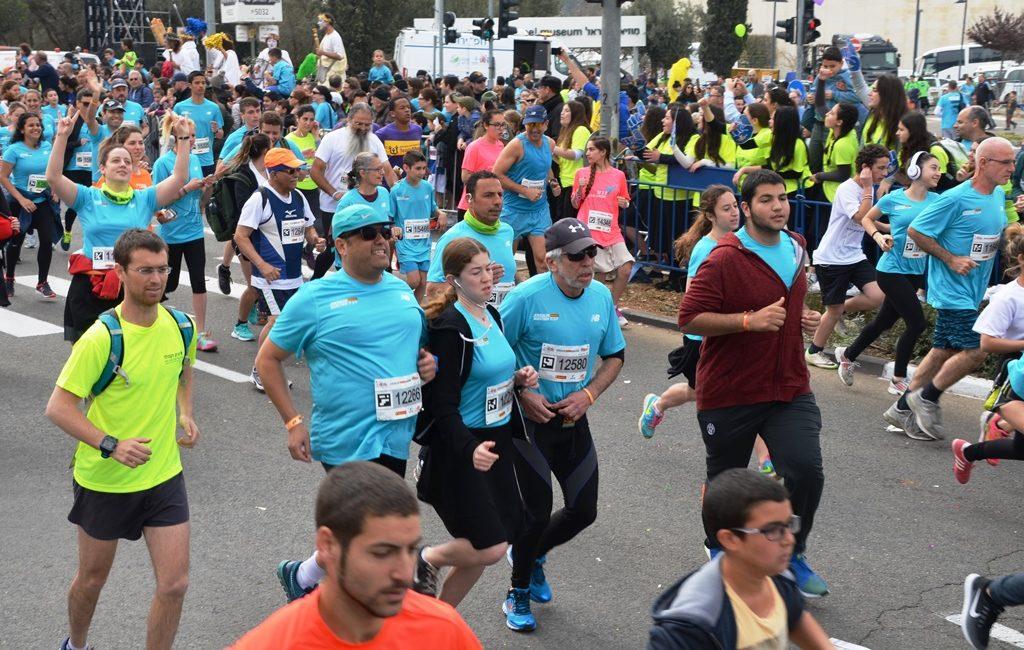 Jerusalem marathon Moshe Lion
