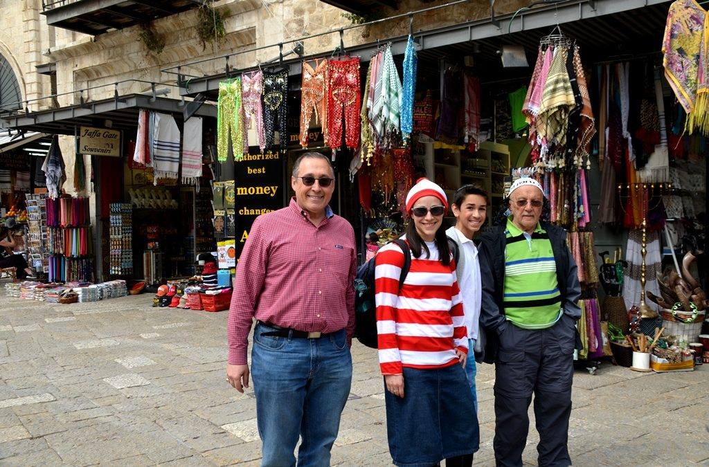 Costume or not costume in Jerusalem Israel for Purim