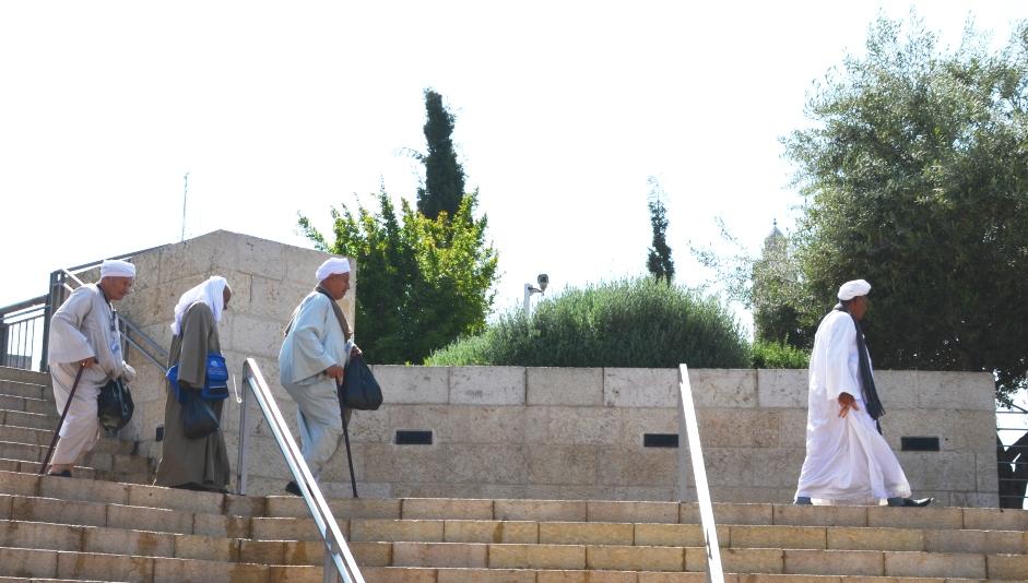 Copts in Jerusalem for Easter