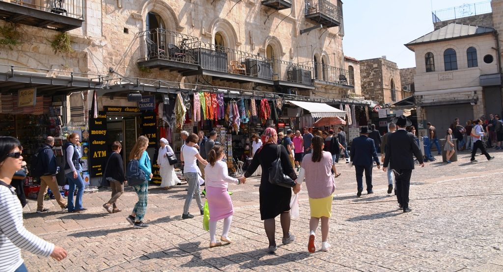 Old City on Easter and Passover