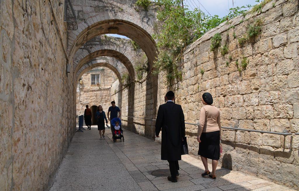 Street scene Jerusalem, Israel Old City