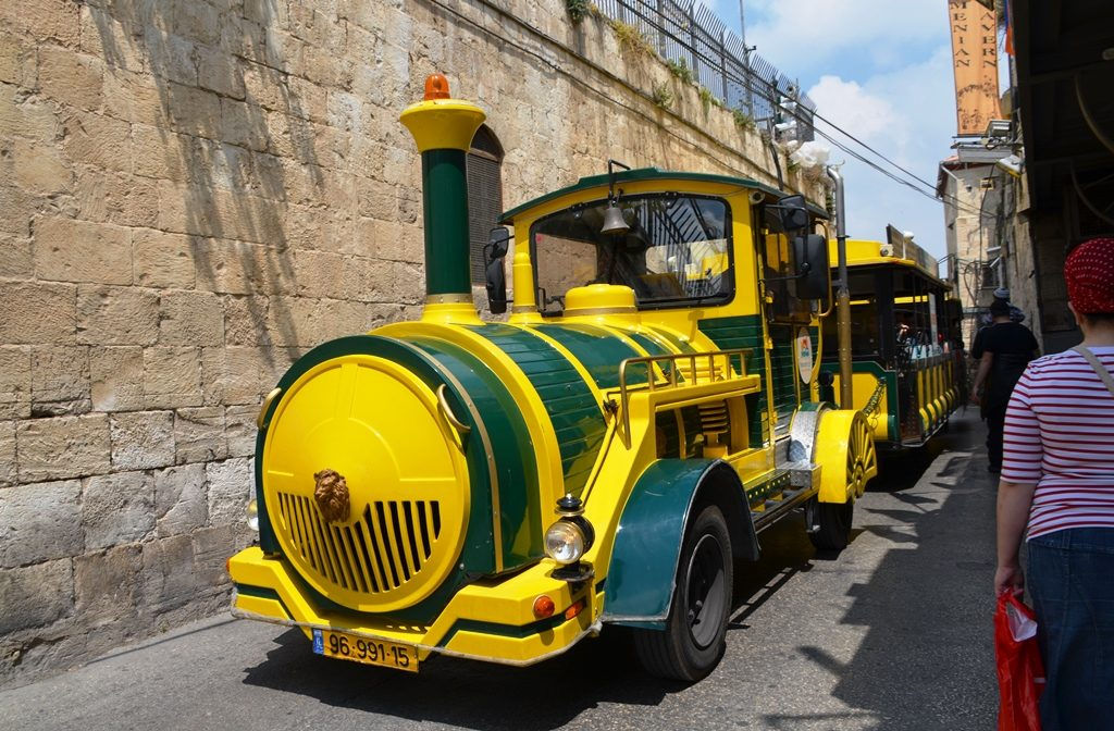 Train for tourists in Old City