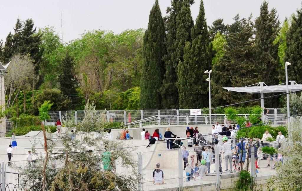 Gan Paamon skate park