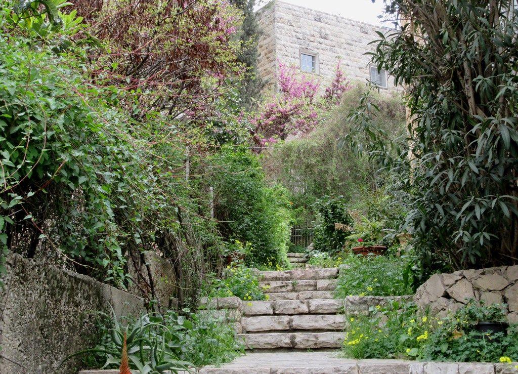 Jerusalem Israel scene in spring