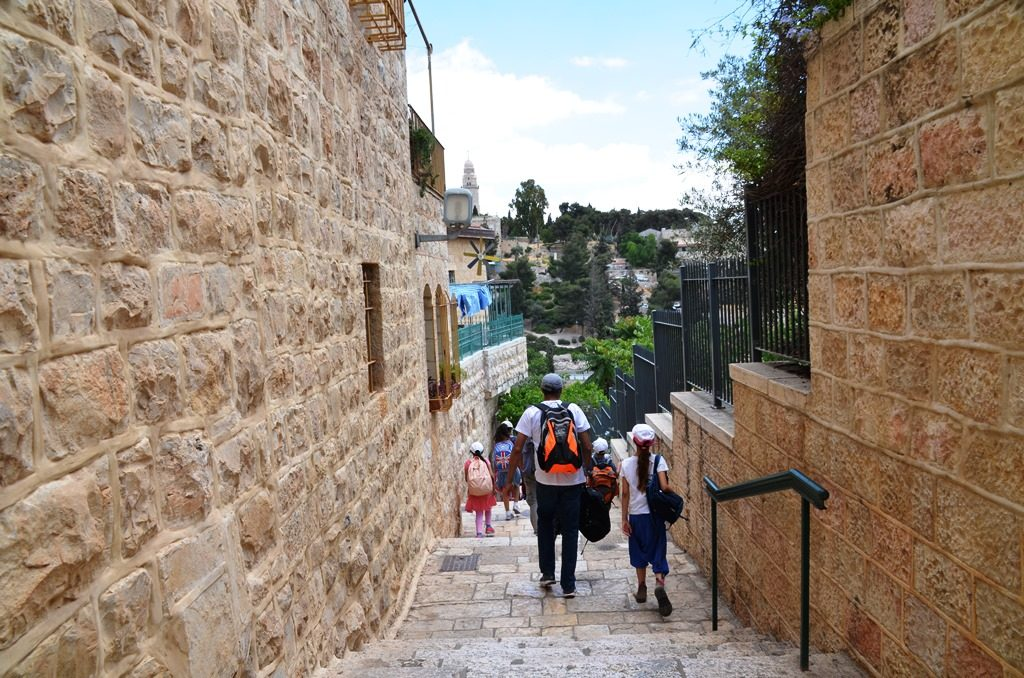 Yom Yerushalayimi school outing to Old City Yemin Moshe