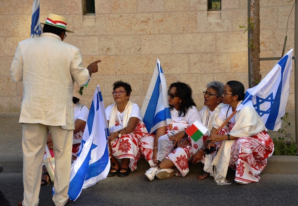Yom Yerushalayim visitors from overseas