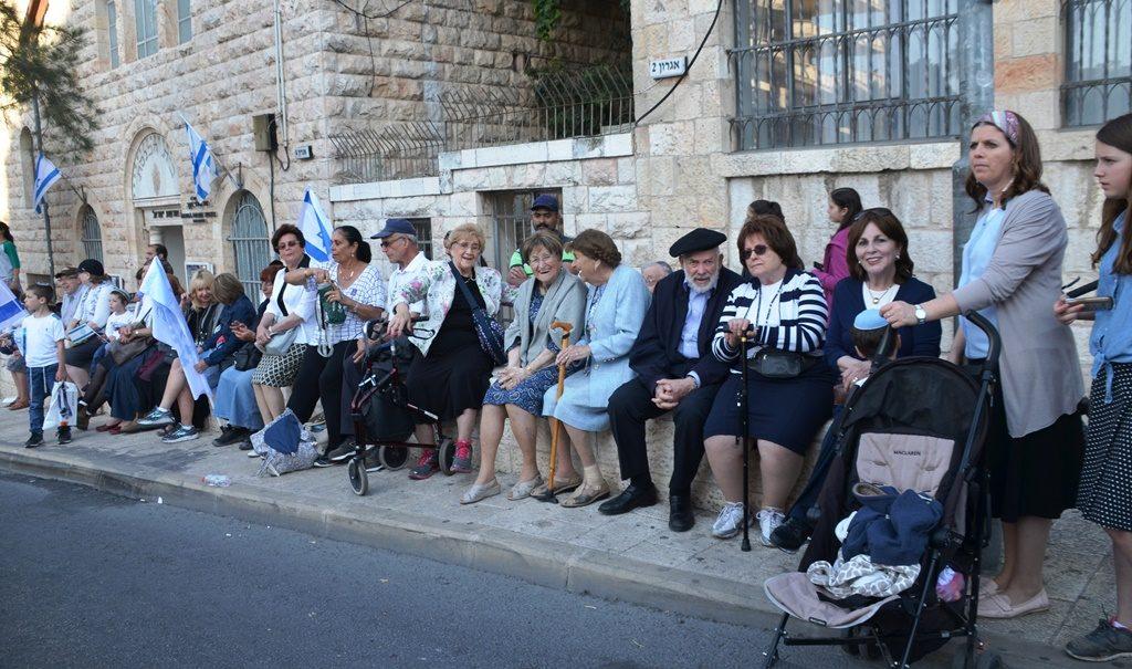Yom Yerushalayim Flag Parade
