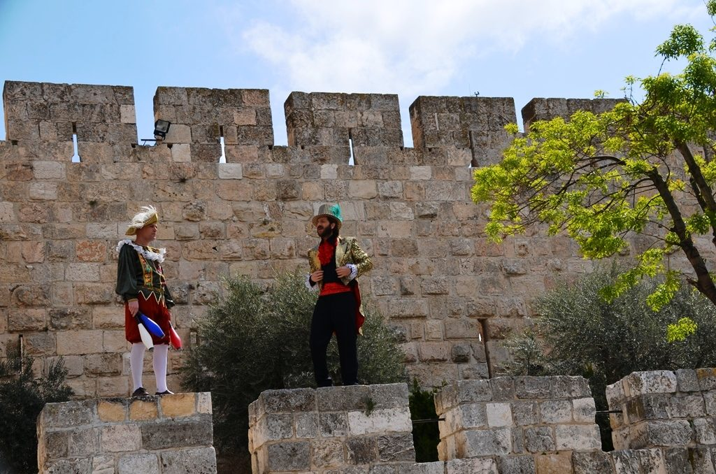 Tower of David entertainers Jerusalem