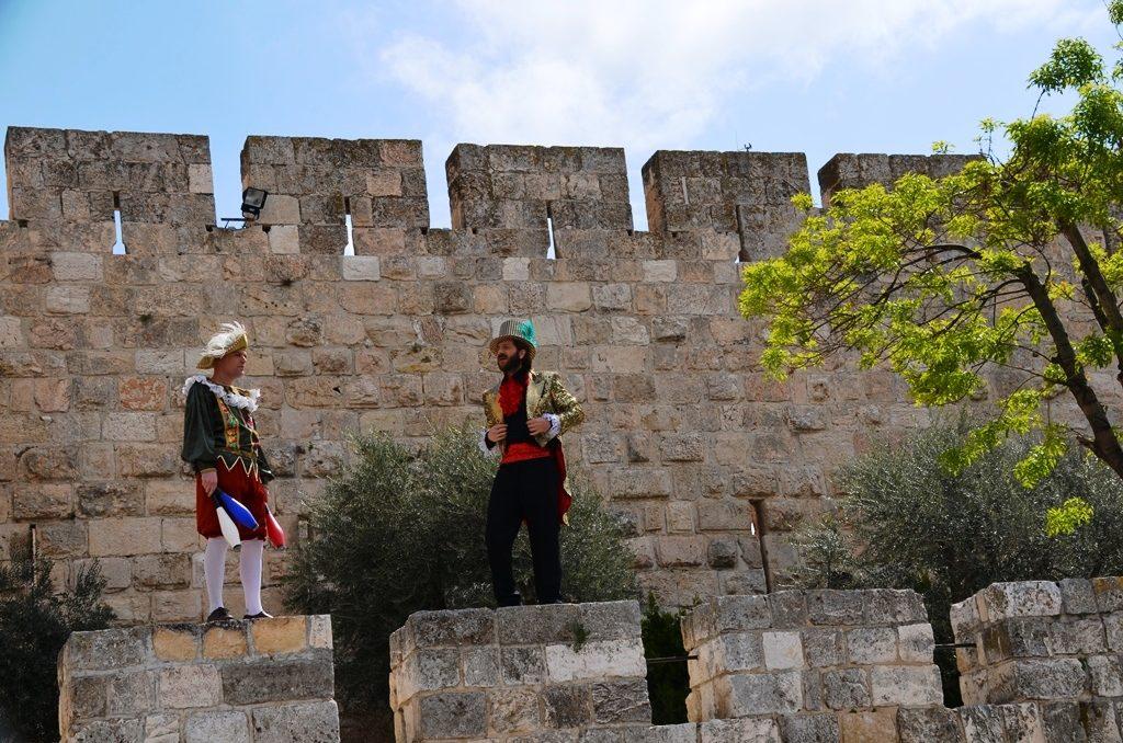 Tower of David entertainers Jerusalem