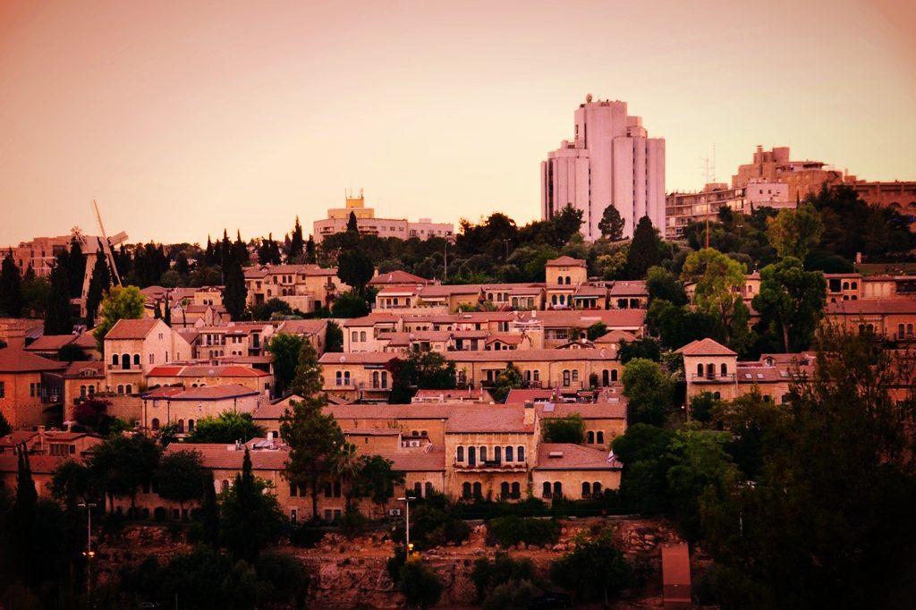 View of Yemin Moshe