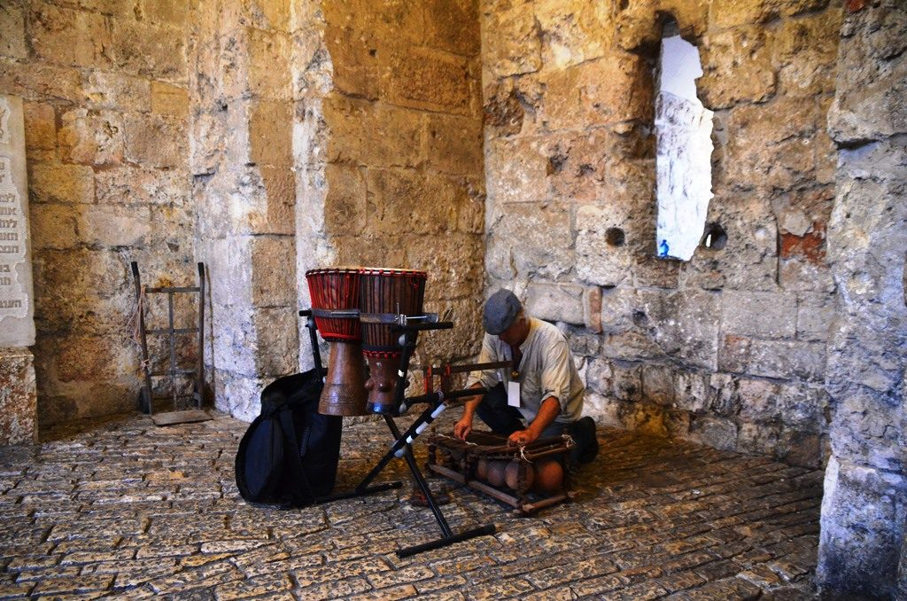 live music for Jerusalem light festival