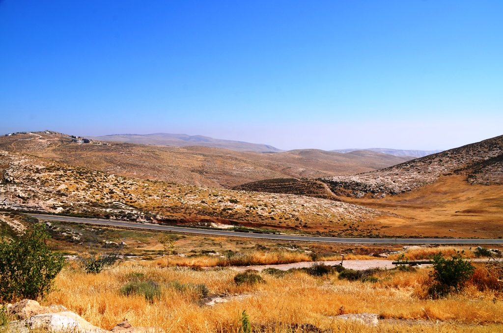 West Bank land of Bemyamin