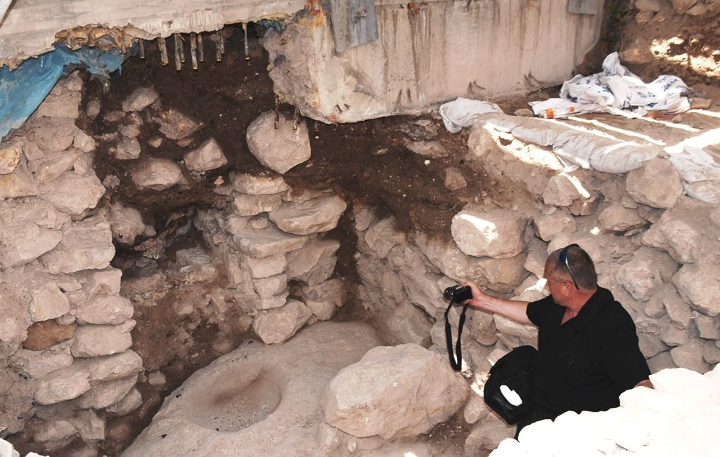 Excavation in City of David