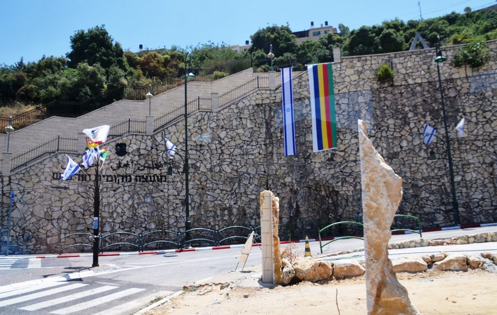 Israel Memorl at entrance to Norfeish