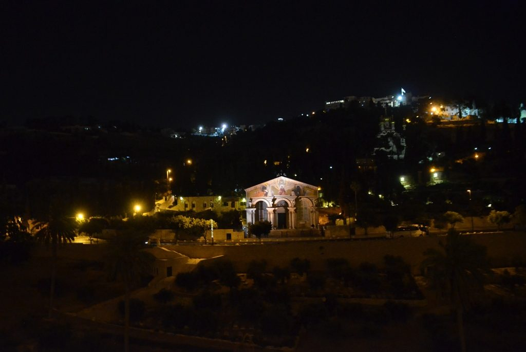 Jerusalem views at night