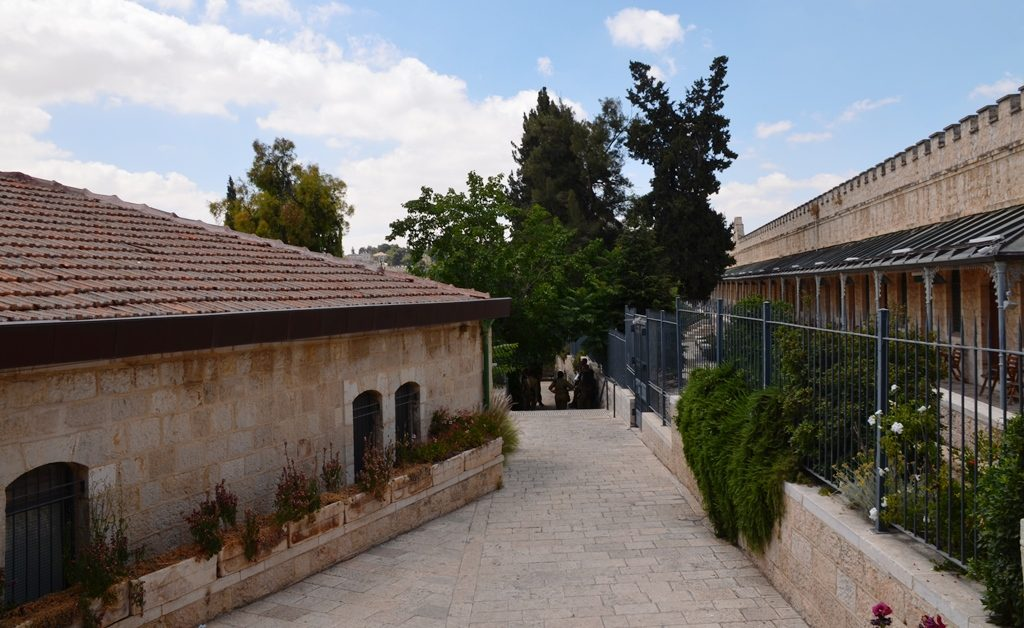 Jerusalem Press Club and Houses of MIshakannot Shananim