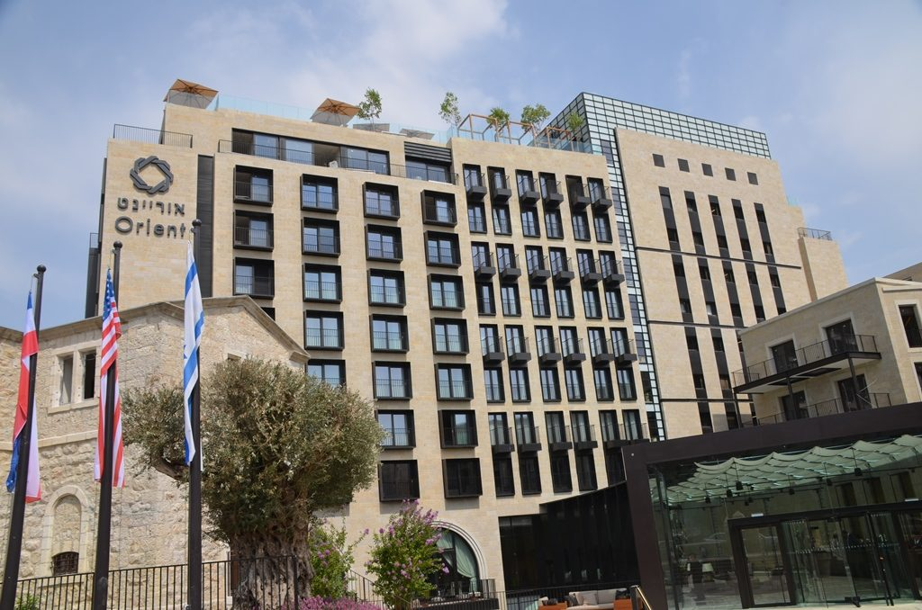 new hotel in Jerusalem Israel Orient