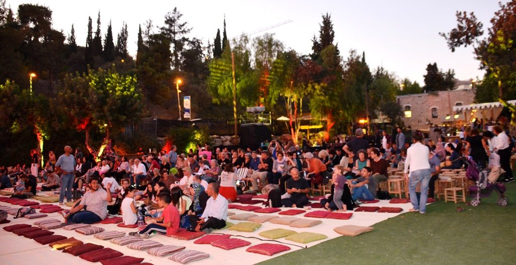 Jerusalem music festival with Arab music