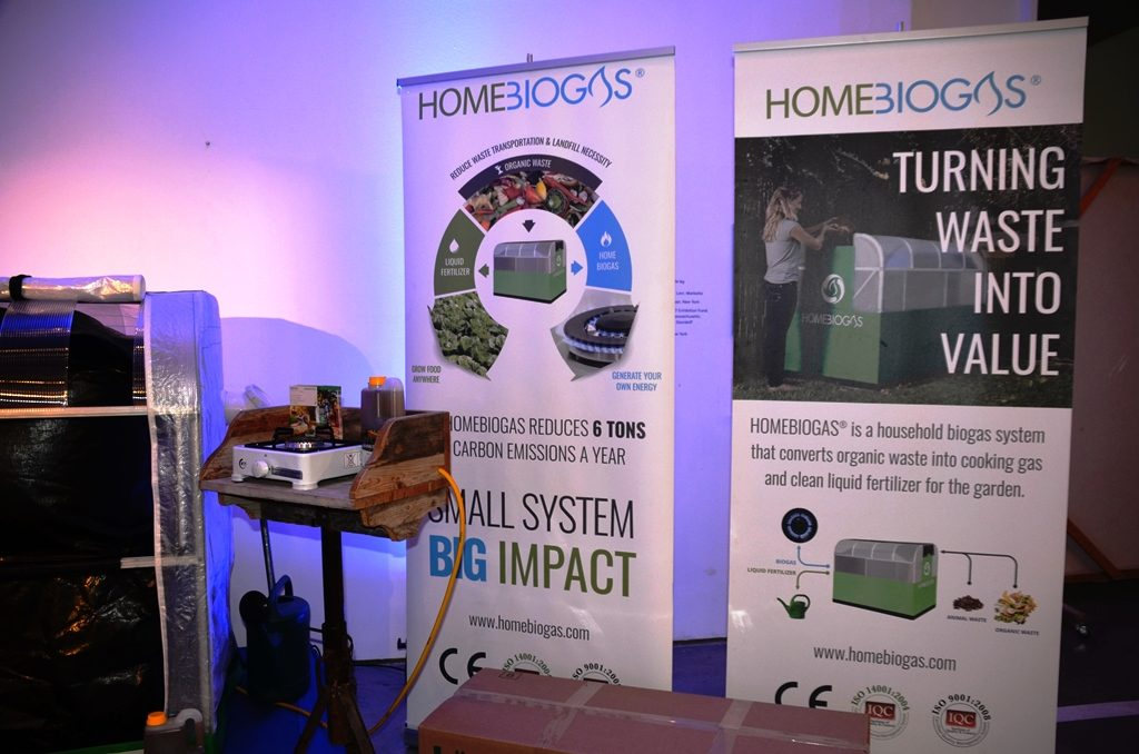 HomeBioGas uses waste for clean fuel for cooking Israel startup