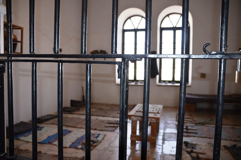 Underground Prisoners Museum cell
