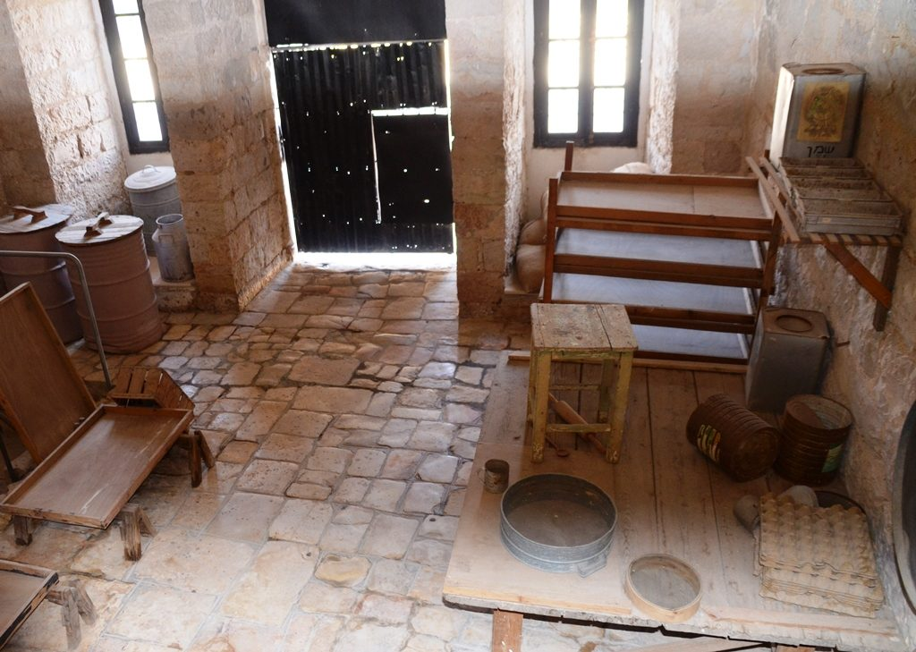 Kitchen in old Prison from British Mandate