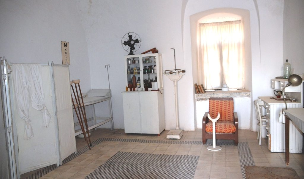 Underground Prisoner's Museum infirmary
