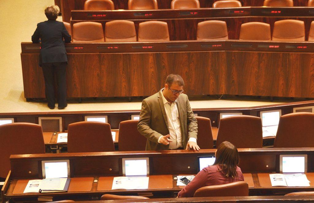 Oren Hazan in Knesset