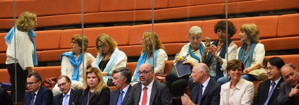 International ambassadors at Knesset opening session